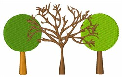 Trees For The Future embroidery design