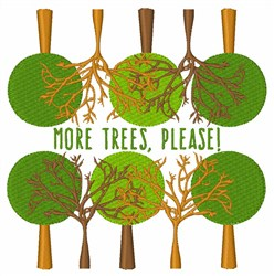 More Tress, Please! embroidery design
