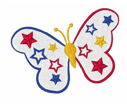 Think Spring Butterfly embroidery design