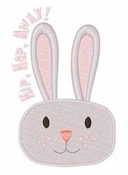 Hip Hop Away Bunny! embroidery design