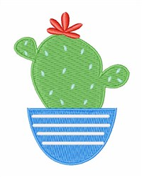 Cactus Addict embroidery design