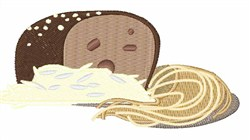Whole Grain Bread embroidery design