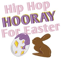 Hooray For Easter embroidery design