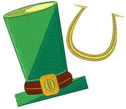 Hat & Horseshoe embroidery design