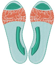 Summer Sandals embroidery design
