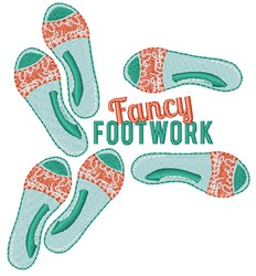 Fancy Footwork embroidery design