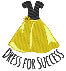 Dress For Success embroidery design