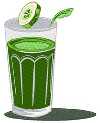 Green Drink embroidery design