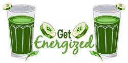 Get Energized embroidery design