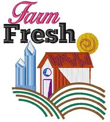 Farm Fresh embroidery design