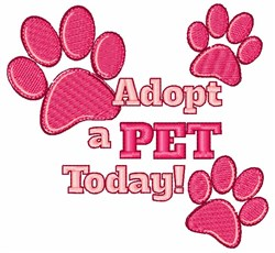 Apopt A Pet embroidery design