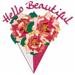 Hello Beautiful embroidery design