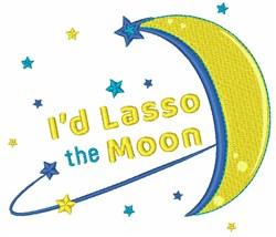 Id Lasso The Moon embroidery design