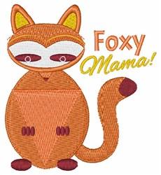 Foxy Mama! embroidery design