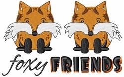 Foxy Friends embroidery design