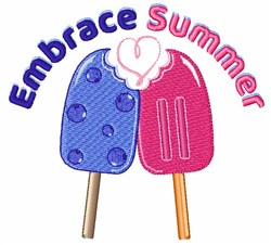 Embrace Summer embroidery design