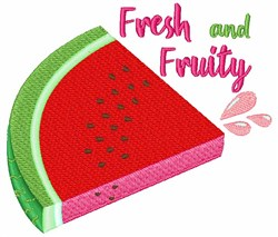 Fresh And Fruity embroidery design