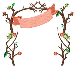 Arbor & Banner embroidery design