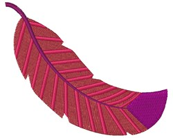 Floating Feather embroidery design
