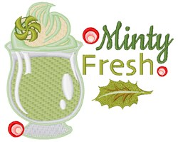 Minty Fresh embroidery design