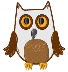 Owl embroidery design