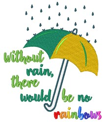 Rainy Day embroidery design