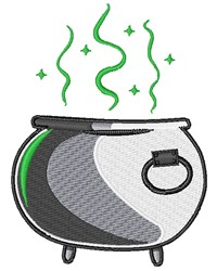 Witches Cauldron embroidery design