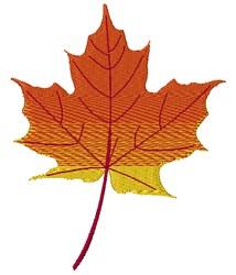 Autumn Maple Leaf embroidery design