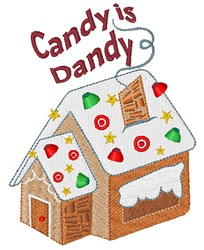 Candy Is Dandy embroidery design