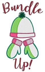 Bundle Up! embroidery design
