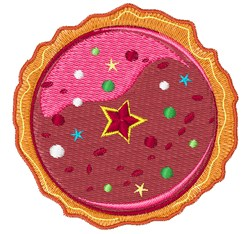 Christmas Pie embroidery design