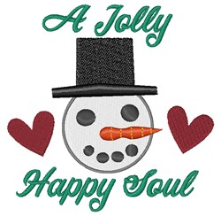 A Jolly Happy Soul embroidery design