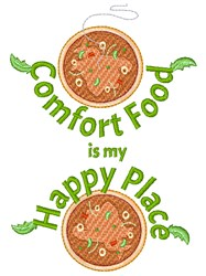 Comfort Food embroidery design
