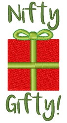 Nifty Gifty embroidery design