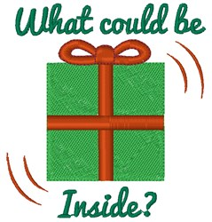 What Could Be Inside? embroidery design