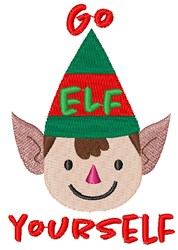 Go Elf Yourself embroidery design