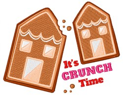 Its Crunch Time embroidery design