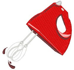 Hand Mixer embroidery design