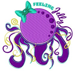 Feeling Jelly embroidery design