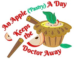 Apple Pastries embroidery design