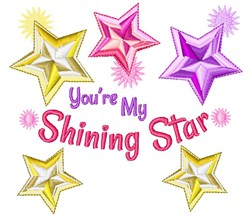 Youre My Shining Star embroidery design