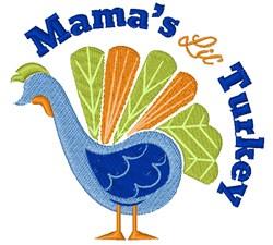 Turkey_Mama s_Little_Turkey embroidery design
