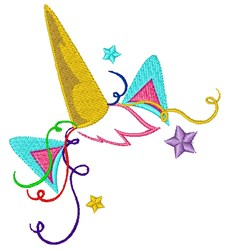 Unicorn Dance Party embroidery design