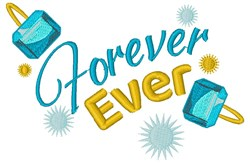 Forever Rings embroidery design
