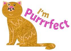 Im Purrrfect embroidery design