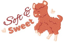Soft & Sweet embroidery design