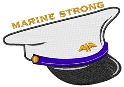 Marine Strong embroidery design