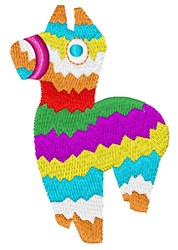 Pinata embroidery design