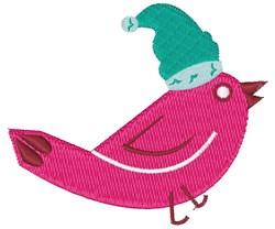 Santa Bird embroidery design