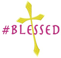 #Blessed embroidery design